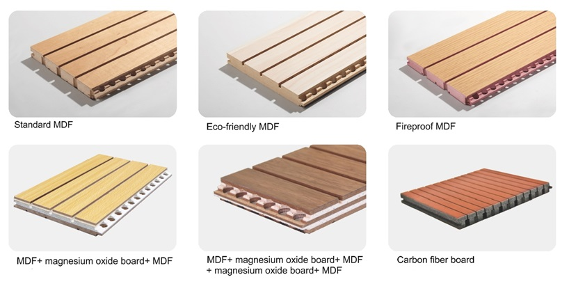 Acoustic Mdf Ceiling Panels Are Sound Absorbed Soundtreating