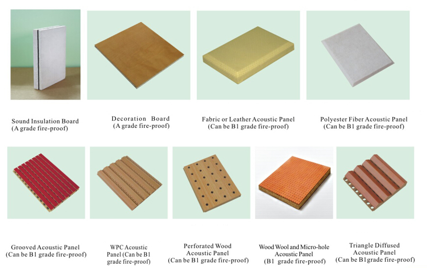 acoustic soundproof materials