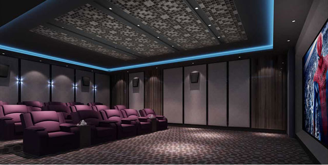 acoustical home theater