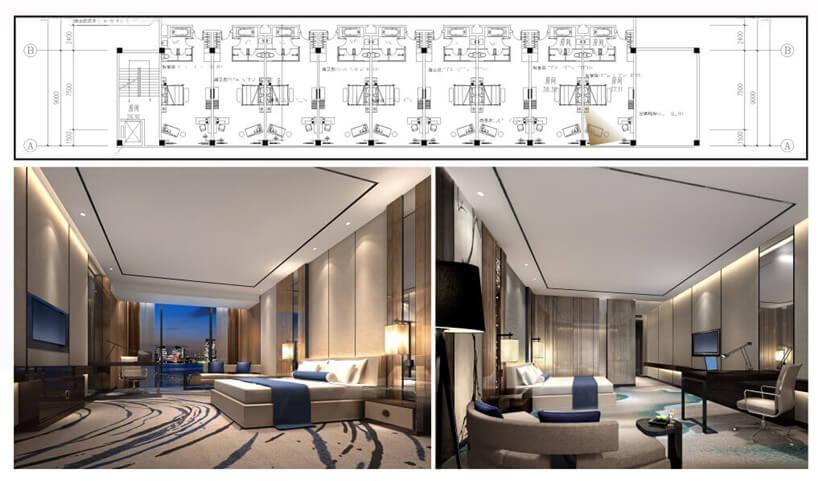 acoustical hotel room design standard