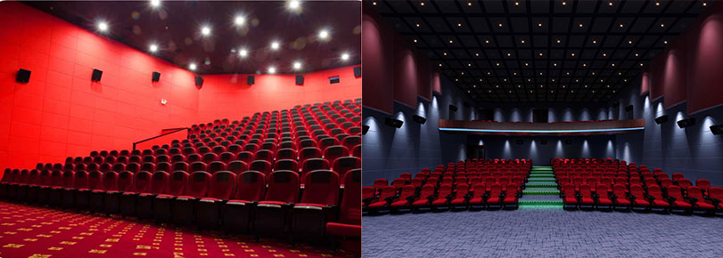 acoustic treatment for cinema acoustic design