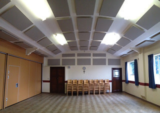 soundproof bass traps for church ceiling