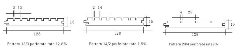 sound absorbing panel model