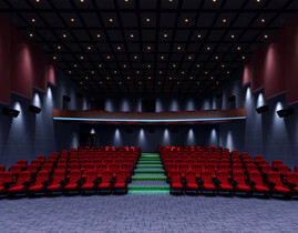acoustic treatment for cinema acoustic designs