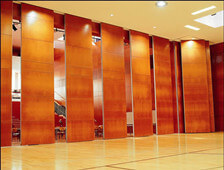 sliding partition wall for auditorium