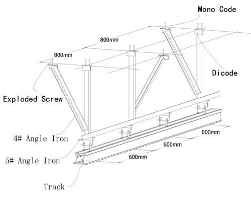 Steel Truss of operable wall