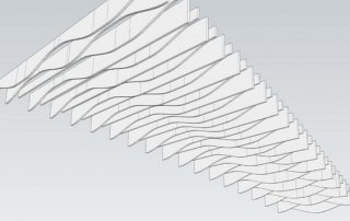 hanging acoustical baffles