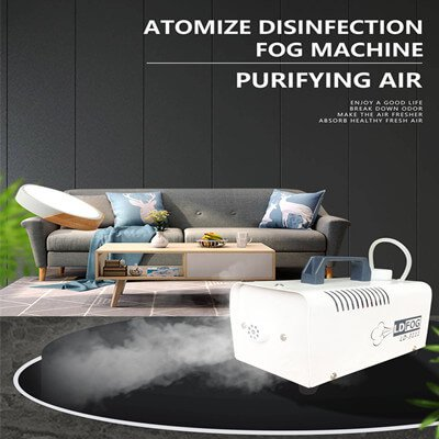 disinfecting fogger machine